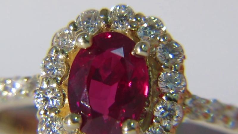 Avis Diamond: GIA Ruby.