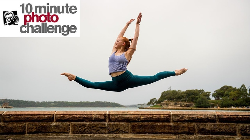 Dancer ESCAPES FROM HOSPITAL for 10 Minute Photo Challenge (Inspiring)