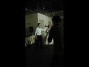 Танец мамы с сыном и отца с дочерью