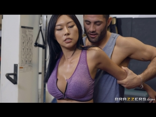Honey moon (feel the burn)[2018, asian, brunette, gym, straight, titfuck, facial, 1080p]