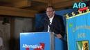 Jörg Urban Landesvorsitzender der AfD Sachsen auf dem politischen Aschermittwoch in Cotta