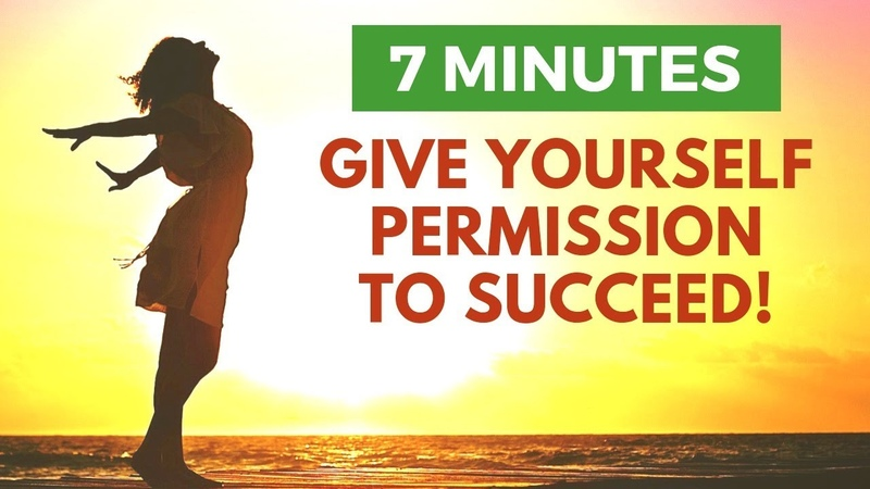 Give Yourself PERMISSION to SUCCEED | Morning Affirmations for Abundance