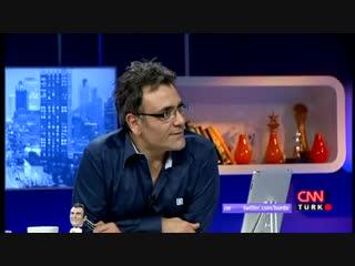 Али дает интервью на ток шоу <<burada laf cok>> на канале <<cnn turk>>..