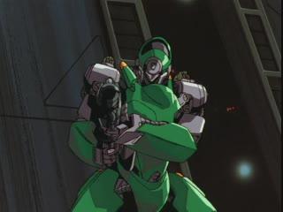 Кризис каждый день _ Bubblegum Crisis 2032 OVA - 3 серия [Azazel, Ruri]