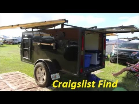 Ultimate Homemade Overland Trailer Walk Around