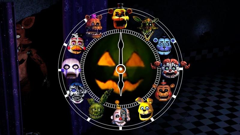 1 Hour Jumpscares Halloween Special   FNAF Fangames