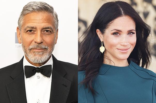 Джордж Клуни защитил Меган Маркл от нападок хейтеров и сравнил ее с принцессой Дианой В полку защитников 37-летней Меган Маркл, сталкивающейся с постоянными нападками хейтеров, прибыло: на ее