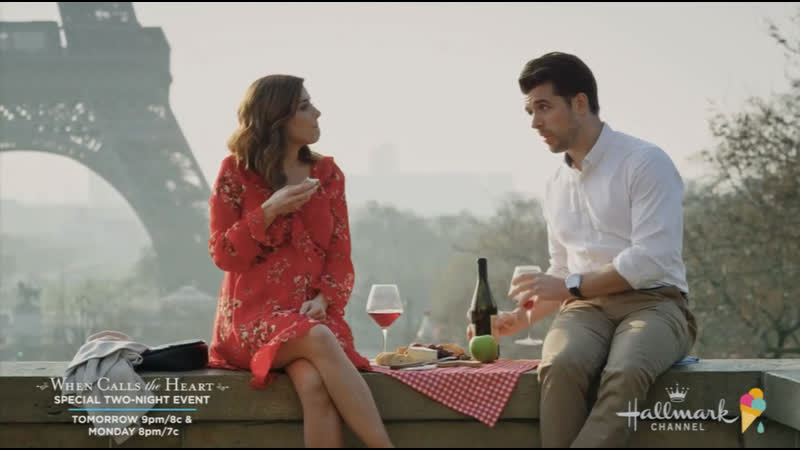 A Paris Romance (Hallmark Channel 2019 US) (ENG)
