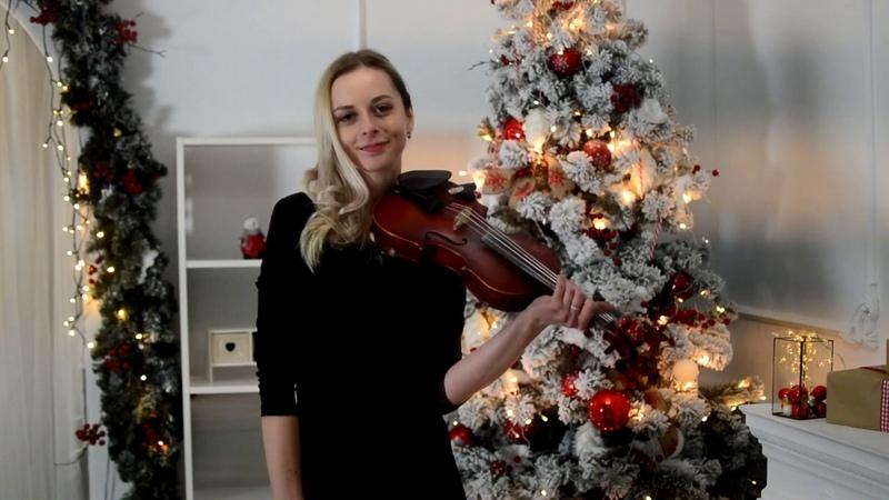 Michael Buble - Holly Jolly Christmas violin cover by Olga Chirkun