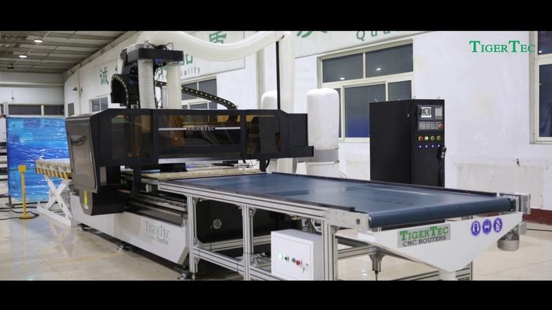 Станок TigerTec TZ для производства корпусной мебели
