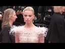 Natalia Vodianova Josephine Skriver on the red carpet for the premiere of La Belle Epoque in Cannes