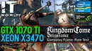 Kingdom Come Deliverance /Xeon x3470 /GTX 1070 TI /Gameplay Frame-Rate Test [1080p]
