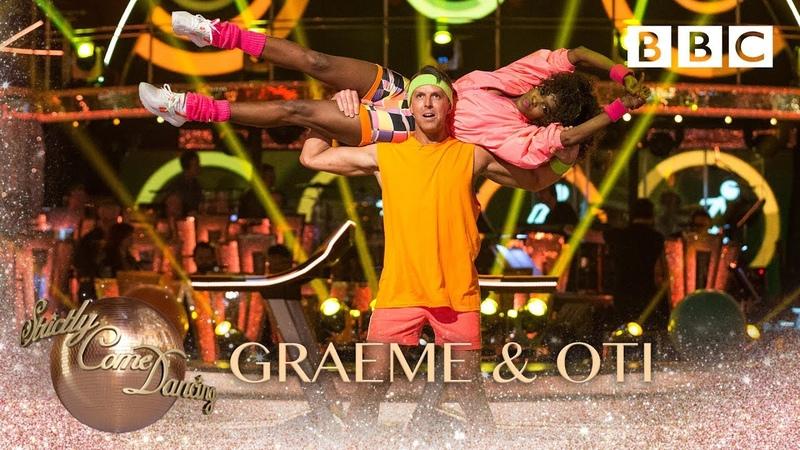 Graeme Swann Oti Mabuse Salsa to 'Follow The Leader' by Soca Boys - BBC Strictly 2018