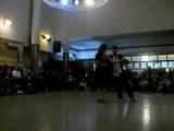 Ozgur El turquito Demir y Cecilia Berra tango nuevo en Malcom