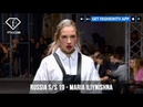MARIA ILIYNISHNA Mercedes Benz Fashion Week Russia S/S 2019 | FashionTV | FTV