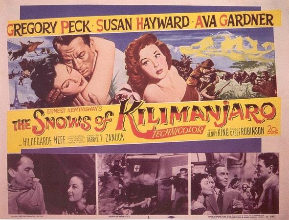 Las Nieves del Kilimanjaro (1952) - Henry King - Español