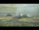 Предрассветный «Град»: кадры залпов батарей РСЗО с учебного полигона (часть 2)