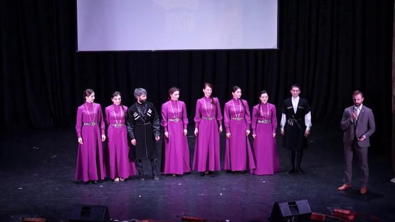 Отчетный концерт анс Иристон Спб Музыкальная композиция