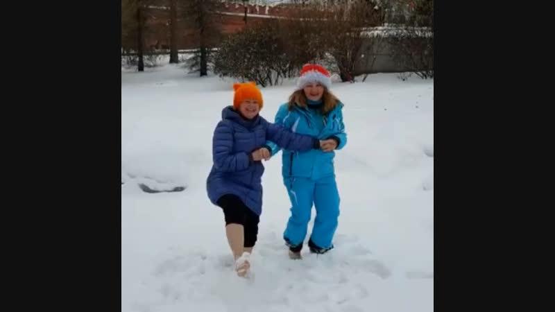 Танец в Александровском саду