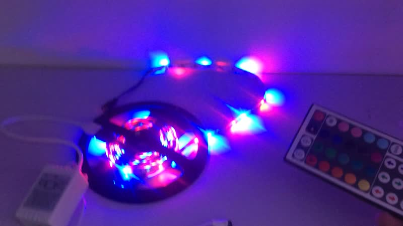 Светодиодная лента 3528 60led 12V ip20 RGB