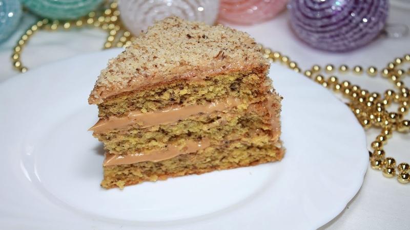 Супер Нежный и Вкусный Тортик. Готовится просто, съедается быстро