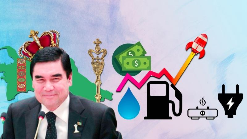 Туркменистан Гельды Кяризов О Грабеже Населения Харамдагом Бердымухамедовым Ради Инвестиций