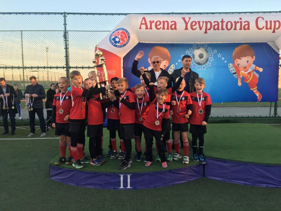 Команды города Донецка приняли участие в XII юношеском футбольном турнире «Arena Yevpatoria Cup – 2018»