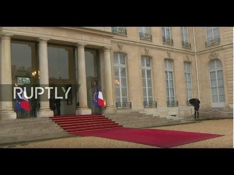 LIVE Putin, Trump among international leaders to depart from Elysee after luncheon