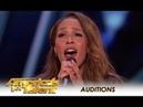 Glennis Grace STUNNING 39 Year Old Singer Tribute To Whitney Houston America's Got Talent 2018