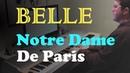 Belle - Notre Dame De Paris (Riccardo Cocciante) - Piano Cover