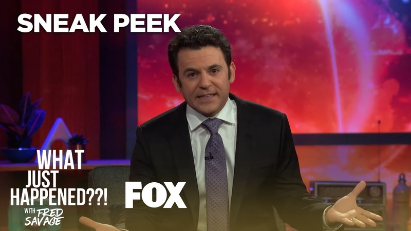 First Look A Show About A Show That Doesn't Exist WHAT JUST HAPPENED WITH FRED SAVAGE