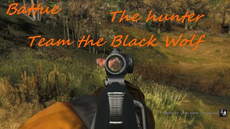Battue The Hunter Team the black wolf