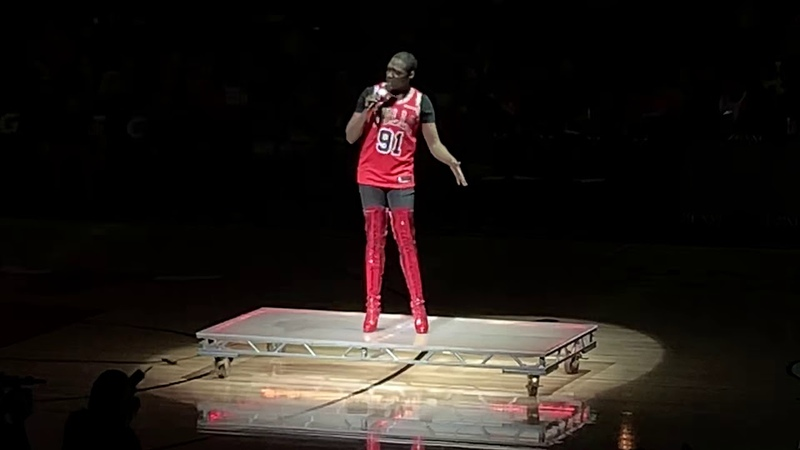 Halftime show Bulls 1/19/19