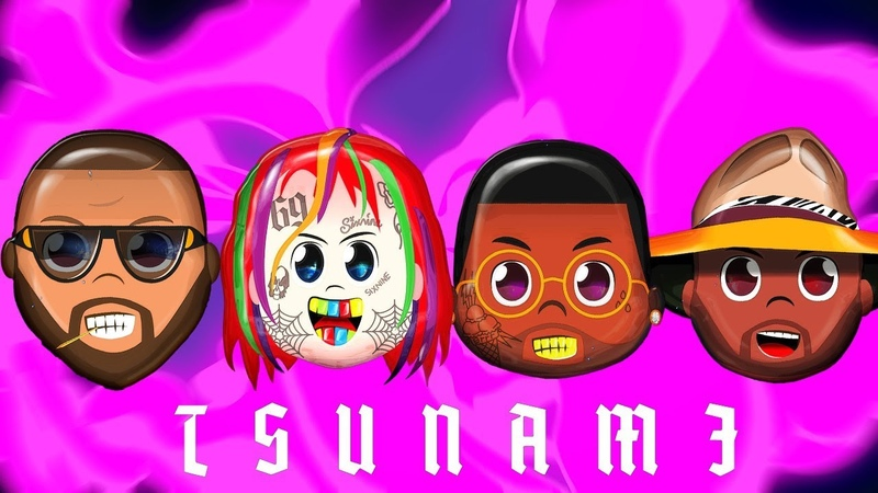 6ix9ine Gucci Mane Joe Young Mike Rebel - Tsunami [Рэп Волна]
