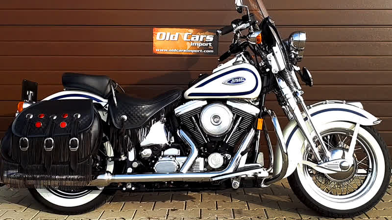 Мотоцикл Harley Davidson FLSTS Springer Evolution 1998 года
