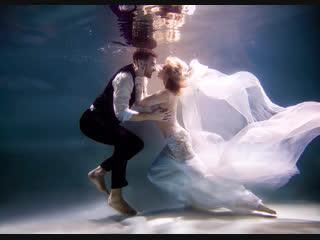 Алиса Moor 👰🏼🤵🏽 Подводная съёмка с Eliza White
