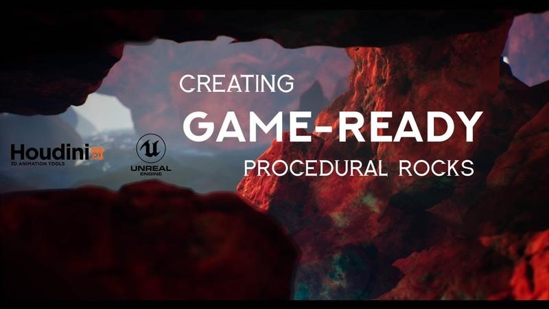 Урок Houdini Процедурное создание камней для Unreal Engine / Unity