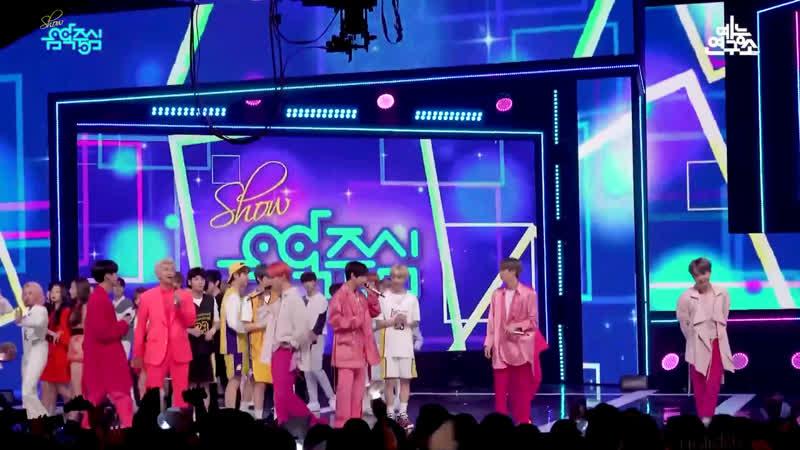 예능연구소 직캠 방탄소년단 작은 것들을 위한 시 1위 앵콜 @쇼!음악중심 20190427 Boy With Luv BTS in 4K