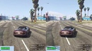 GTA V 60fps vs ~100fps CCGP lap Read the Description!