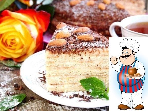 Сметанный торт на сковороде <strong>Ингредиенты:</strong> Сметана (25%) 200 г Сахар 180 г Мука 380 г Масло оливковое 3 ст. л. Рикотта 350 г Молоко сгущенное 150 г Лайм 1 шт. Шоколад горький 30 г Сода 1 ч. л.&#187;/></div> <p><strong>Ингредиенты:</strong> </p> <p>Сметана (25%)  200 г <br />Сахар  180 г <br />Мука  380 г <br />Масло оливковое  3 ст. л. <br />Рикотта  350 г <br />Молоко сгущенное  150 г <br />Лайм  1 шт. <br />Шоколад горький  30 г <br />Сода  1 ч. л. <br />Уксус  1 ст. л. <br />Ванилин  1,5 г  <p><strong>Приготовление:</strong> </p><p><div id=