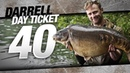 Darrell Peck Day ticket 40 Carp Fishing Korda