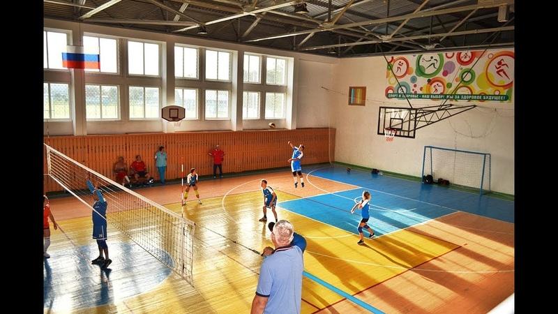 Фрагменты волейбольного турнира на спартакиаде адвокатских палат СФО и Монголии 2018