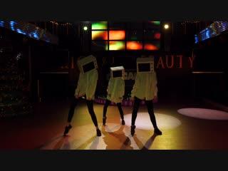 Трио Хип-Хоп. Тренер Влад Бабин. Студия танцев TRANCE-DANCE. Донецк