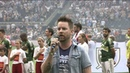 David Cook performs National Anthem at Children's Mercy Park