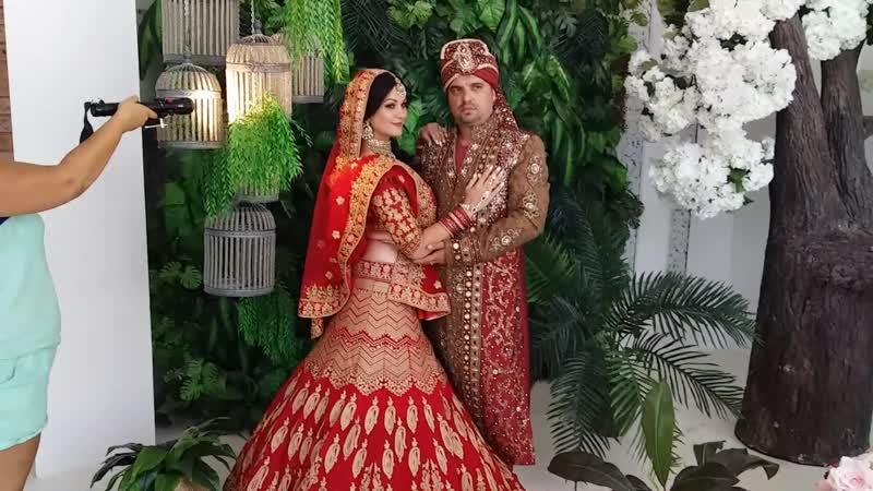 Индийская фотосессия для пары Love story