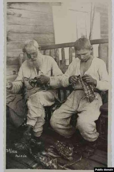 ЛАПТИ И АВТОМОБИЛЬ: ЖИЗНЬ БЕЛОРУССКОГО ПОЛЕСЬЯ В 30-ГОДВ ХХ ВЕКА В 1930-1939 годах польские фотографы сделали несколько сотен снимков крестьян Полесья, жителей лесистой равнинной местности на