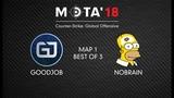 GoodJob vs NoBrain, Map 1 МЭТА`18. Winter