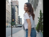 "Genevieve Padalecki on Instagram_ ""The jeans of every mamas dream. @7forallmank"
