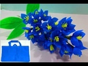 Making easy shopping bag flower Best out of Waste Idea DIY Room Decor Idea