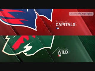 Washington Capitals vs Minnesota Wild Nov 13, 2018 HIGHLIGHTS HD